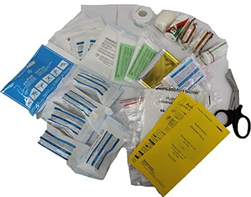 SÖHNGEN Erste-Hilfe-Füllung DIN 13157 20 Jahre Haltbarkeitsdatum auf sterile DIN Verbandstoffe neue Ausführung 64-teilig