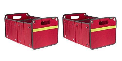 Faltbox Faltbox für Zuhause, Büro oder unterwegs, rot, 2-Pack