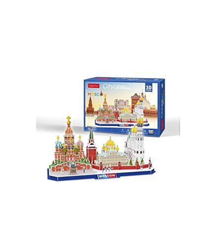 JUCOSUR S.L. Puzzle 3D Moscú