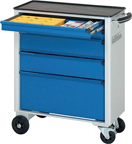 RAU 02-7100.11 Serie adlatus Modell 7100 Werkzeugwagen, grau-blau