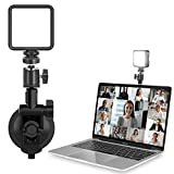 ULANZI Video Conference Lighting Kit, Zoom Lighting for Computer Video Conferencing with Suction Cup and Ball Head, Laptop Zoom Call Light, Remote Working, Self Broadcasting and Live Streaming