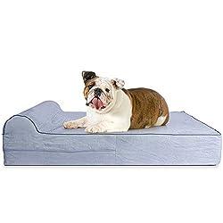 Kopeks Orthopedic Pillow Top Pet Bed
