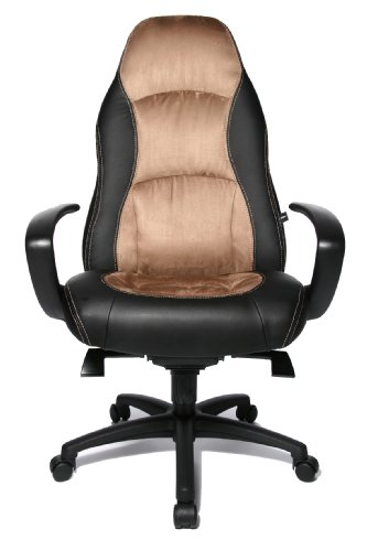 Topstar SC20FTC7 Speed Chair Poltrona Direzionale, Nero - Marrone