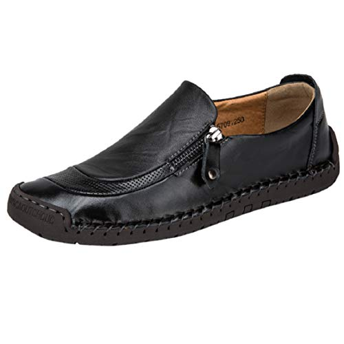 Save %18 Now! Men Classic Suede Slip On Loafers Moccasins Luxury Comfort Shoes Dress Shoes by Lowpro...