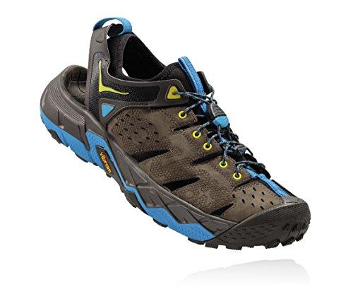 HOKA ONE ONE Men's Tor Trafa Hiking Sandal,Major Brown/Black Olive,US 11.5 M