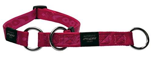 Rogz HBC25-K Alpinist Stopp- Halsband/K2, L, rosa