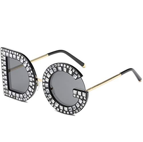 Occhiali da Sole DG Lettera personalità Diamante Europa e America Tendenza Occhiali da Sole