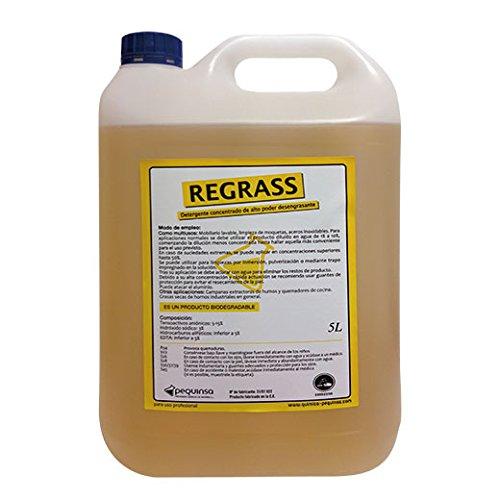 PEQUINSA Desengrasante Concentrado enérgico Biodegradable. Envase de 5 litros.