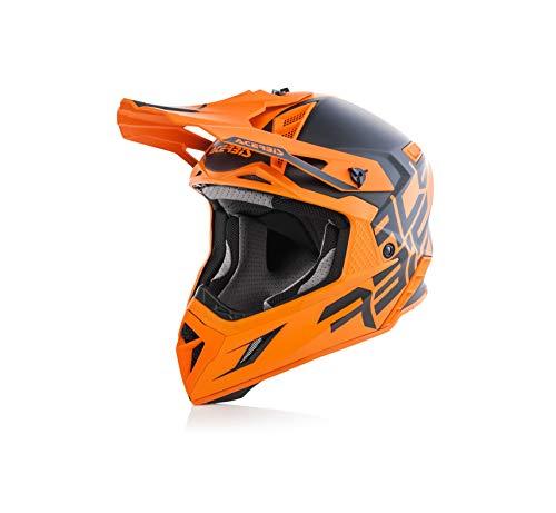 Acerbis Casque X-Pro VTR Noir/Orange Xl