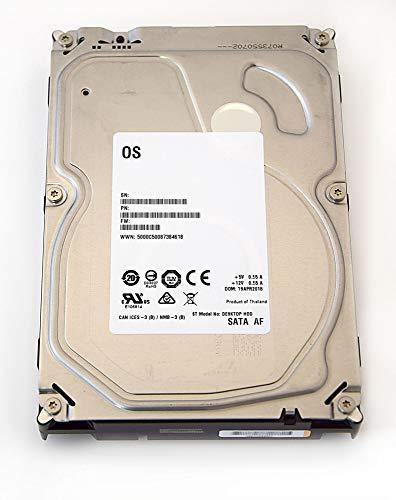 Seagate Barracuda/Desktop-HDD White Label Interne Festplatte 3,5 Zoll, 8,9cm, PC, HDD, NAS, 7200RPM, SATA-600, SATA3, Serial ATA, Kapazität:6.000GB (6TB) (Generalüberholt)
