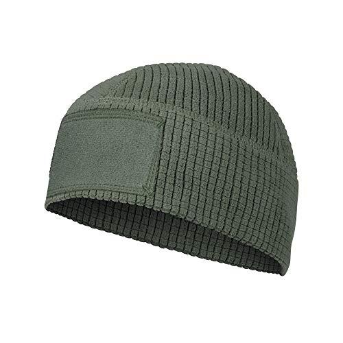 Helikon-Tex Range Beanie Cap - Grid Fleece, Olivgrün, L-XL
