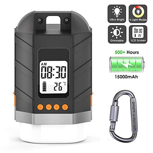 Sinvitron LED Camping Lantern Rechargeable