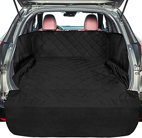 F-color SUV Cargo Liner for Dogs, Large Water Resistant Pet Cargo...
