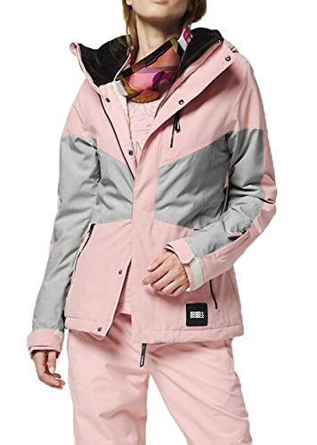 O'NEILL PW Coral Jacket Snow Donna Bridal Rose, Taglia M