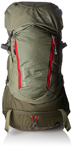 THE NORTH FACE Unisex-Erwachsene Terra 50 Extra L Tagesrucksack, Grün (Grape Leaf/Deep Lich), 22x24x45 Centimeters