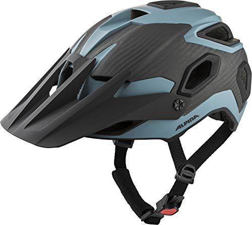 Alpina Unisex– Erwachsene ROOTAGE Fahrradhelm, Dirt-Blue matt, 57-62 cm