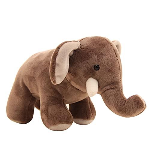 XIYUNM Juguete De Peluche Lindo Animal Elefante Muñeca Decoración del Hogar Y Mejores Regalos para Niñas
