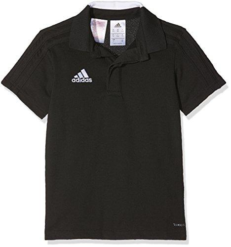 adidas Kinder Condivo 18 Poloshirt, Black/White, 116