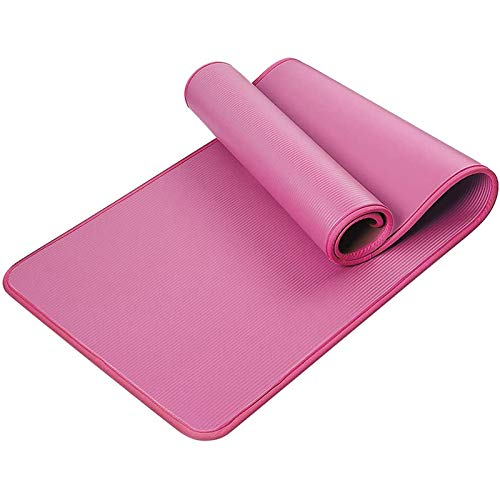 TOOGOO Esterilla de Yoga, Esterilla de Yoga Suddefr, Antideslizante, Plegable, Esterilla de Fitness con Correa para Yoga, Gimnasia