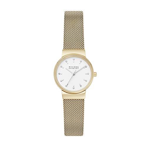 Skagen SKW7202 - Reloj de Pulsera para Mujer, Acero Inoxidable, Color Dorado