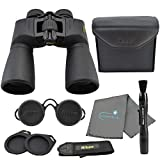Nikon Action Extreme 10x50 All Terrain Binoculars 7245 Bundle with a Nikon Lens Pen and Lumintrail Cleaning Cloth