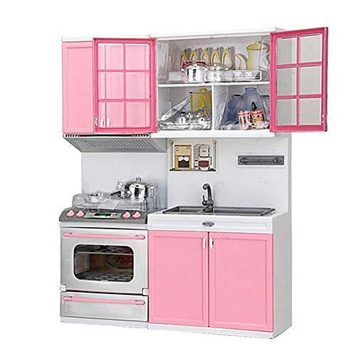 TODAYTOP - Juego de Cocina Infantil con Juguete Divertido para cocinar, Color Rosa