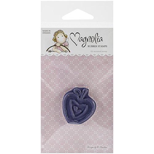 Magnolia Un littly Yummy pour Votre Ventre en Caoutchouc Tampon étirable 14 cm x 2,5 Package-Apple