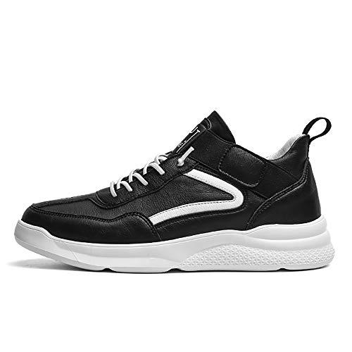 ZLYZS Zapatos De Skate para Hombre, Monopatín De Velcro Zapatilla De Deporte...