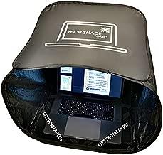 TECH SHADE TO GO _ Portable Laptop Sun Shade, Privacy Cover, Laptop Sun Shade, Laptop Shade for Working Outside, Laptop Shade, Laptop Sun Hood, Laptop Sun Glare Shield, Laptop Hood for Outside Glare