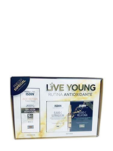 ISDIN Live Young Rutina Antioxidante, 2 Unidades