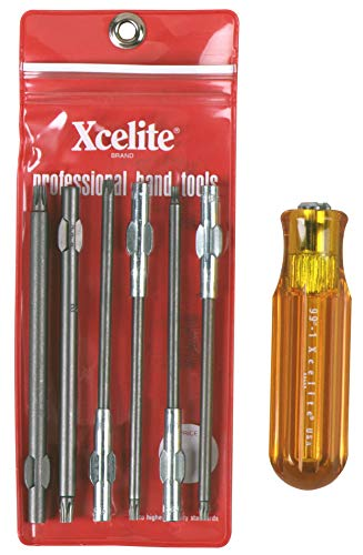Xcelite - Tool Set, Screwdriver, Torx (99XTD7N)