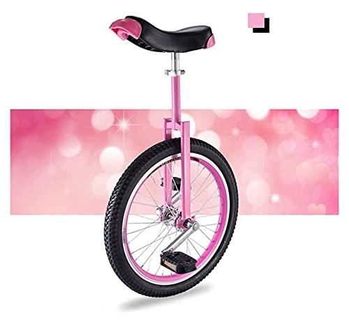 Unicycles para Adultos niños, Bicicletas Unicycycle Girl/Kid/Kid/para el Entrenador de Adultos/de Adultos, 16'/ 18' / 20'Rueda Balance Bike Training Bicycle para Edades 9 años y has