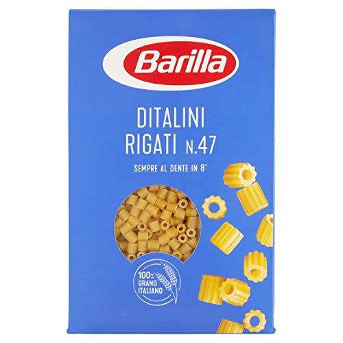 Barilla Pasta Ditalini Rigati, Pastina di Semola di Grano Duro, I Classici, 500 g