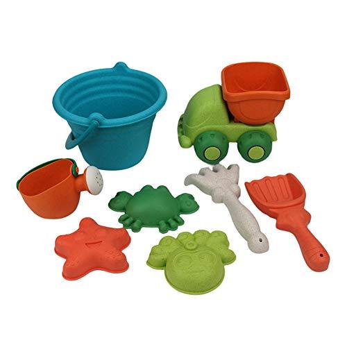 Juego de juguetes de playa para niños, juguete de arena, pala para aspersor (8 piezas)