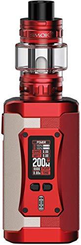 Kit SMOK Morph 2 con serbatoio TFV18 da 7,5 ml Smoktech 230 W Morph 2 Mod Schermo da 0,96 pollici Vape Device Mesh Coil Vaporizzatore per sigaretta elettronica (Bianco Rosso)