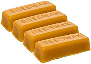 LiveMoor 4 Pure Beeswax blocks - 100% pure and natural beeswax