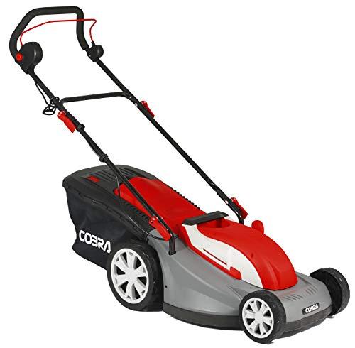 MOSKILA Cobra GTRM40 40cm (16in) Electric Lawnmower with Roller - powerful 1600w motor