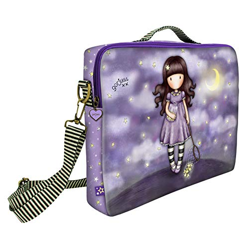 Gorjuss Sparkle & Bloom Girls Laptop Bag 594GJ07 - Catch a Falling Star