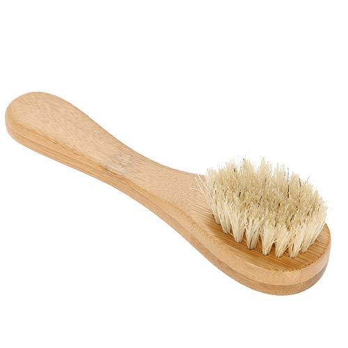 Cepillo facial, Cepillo corporal para cepillado en seco Cepillo seco, Herramienta de limpieza facial Portátil Cómodo uso de viaje para el hogar