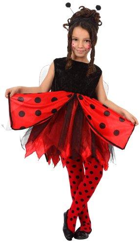 Atosa-12194 Disfraz Mariquita, color rojo, 5 a 6 años (12194)