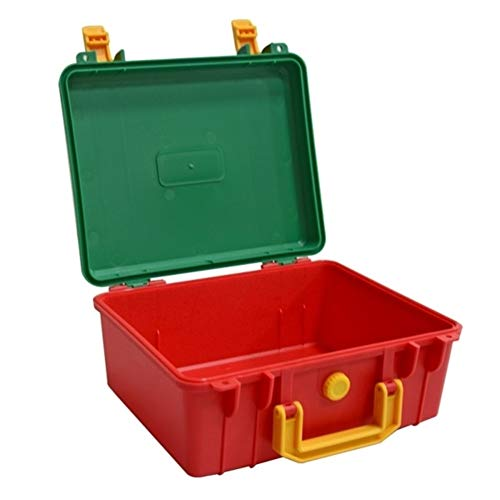 Tool Storage Box Portable Safety Instrument Tool Box Plastic Storage Toolbox Suitcase Sealed Tool Case Box Tool Box (Color : Empty Box)