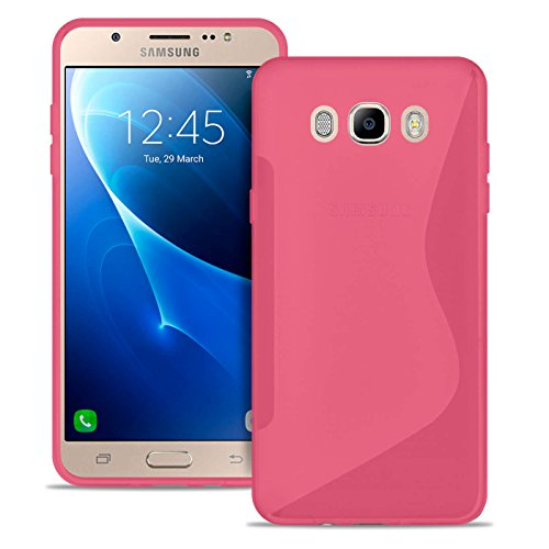 United Case Caja del Teléfono Celular En Rosado para Samsung Galaxy j7 2016 El   Estuche