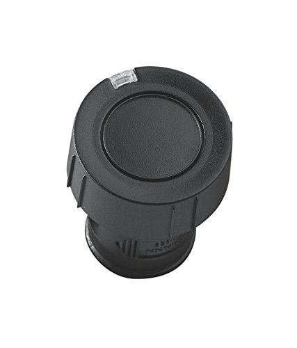 Hörmann handzender HSZ1 868-BS, praktische 1-knops garagedeuropener, afstandsbediening met BiSecur-radiotechniek, zwart, art.nr. 436779