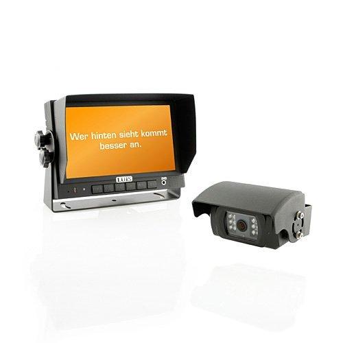 LUIS R7-S Rückfahrsystem mit Shutter Kamera - 180 Grad Sicht Rückfahrkamera