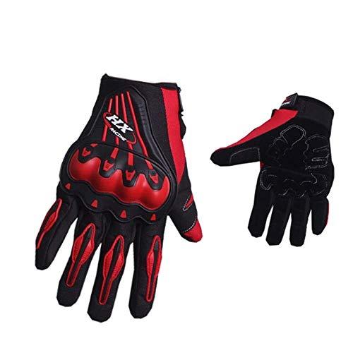 MSXBMSY Guanti Casual Guanti Ciclismo, Traspiranti e Antiscivolo Resistente all'Usura Motocross Racing Completo Finger Gloves, Outdoor Accessori di Protezione, b, XL (Color : A, Size : Medium)