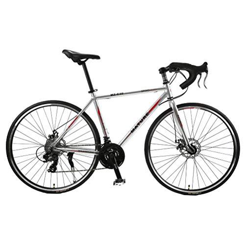 GOLDGOD 30 Speed Mountainbike, Aluminium Rahmen MTB Fahrrad mit Double Scheibenbremse Reduzieren Sie das Windwiderstands-Design Mountain Bike 700C Räder 27,5 Zoll Unisex,Rot