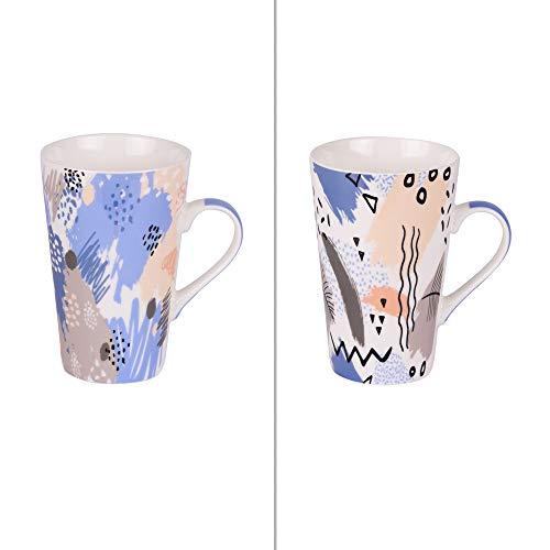 Table Passion - Coffret de 2 mugs xl 53 cl street décors assortis