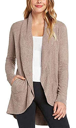 Max & Mia Ladies' The Essential Travel Cardigan (Mocha, Medium)