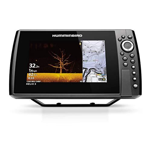 Humminbird 411340-1 Helix 8 Chirp MEGA DI GPS G4N Fish Finder