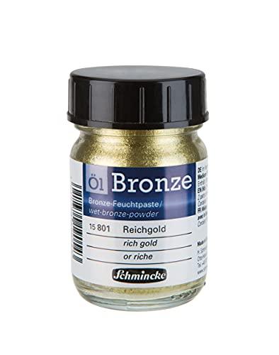 Schmincke Olio bronzo Rich oro 50ml